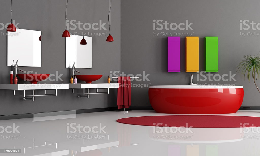 modern bathroom royalty-free stock photo