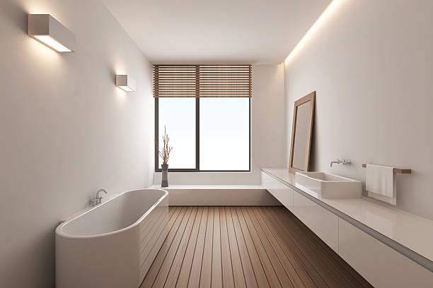 modernes badezimmer - minimalbadezimmer stock-fotos und bilder