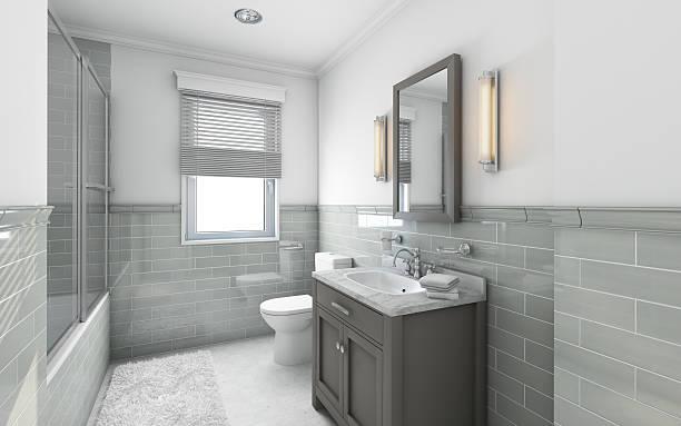 modernes badezimmer - badarmaturen stock-fotos und bilder