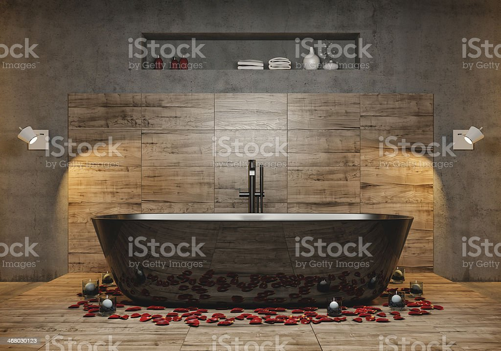 Modern bathroom - Royalty-free Architecture Stock Photo