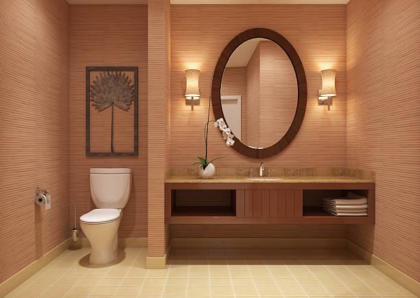 modernes badezimmer - badezimmer rustikal stock-fotos und bilder