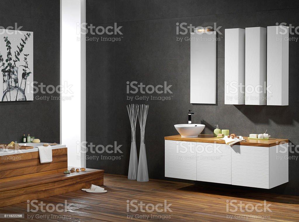 Bagno moderno - foto stock