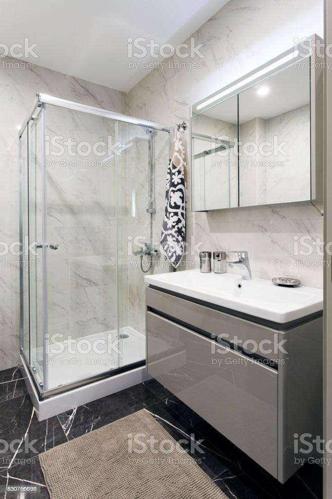 Banheiro moderno - foto de acervo