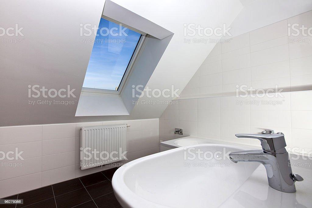 Bagno moderno - Foto stock royalty-free di Alla moda