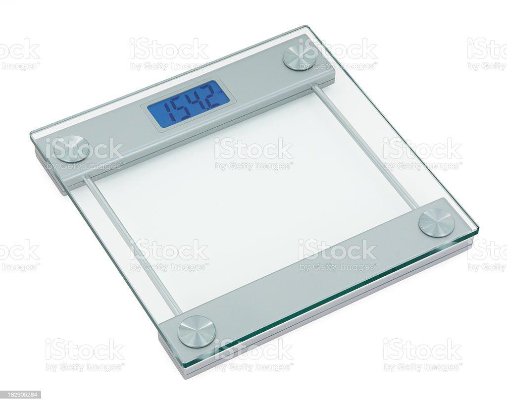 Modern Bathroom Scale stock photo 182905284   iStock