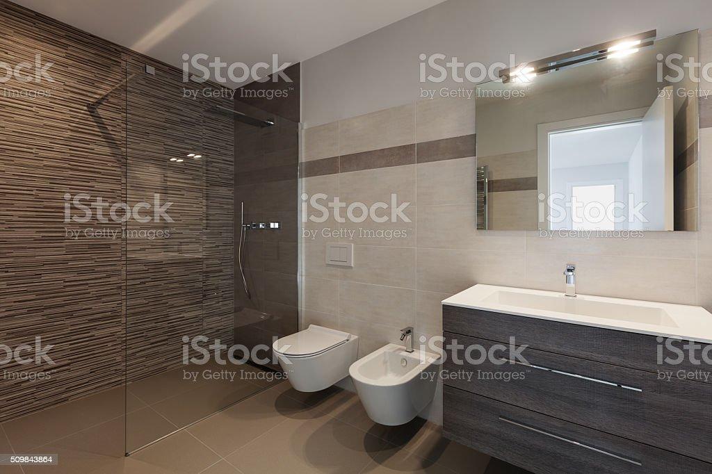 Moderne Badezimmer Mit Dusche Stock-Fotografie und mehr Bilder von ...