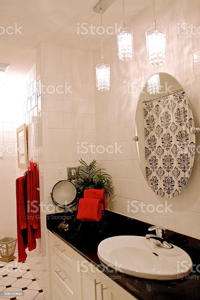 Modern Bathroon stock photo