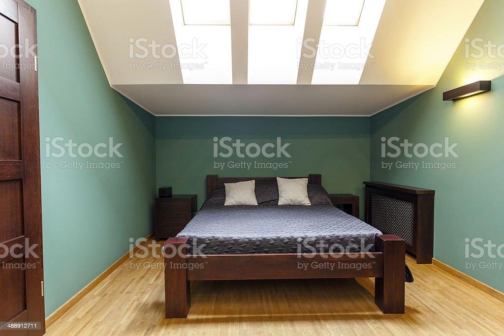 Moderne Schlafzimmer In Türkis Farben Stockfoto und mehr ...