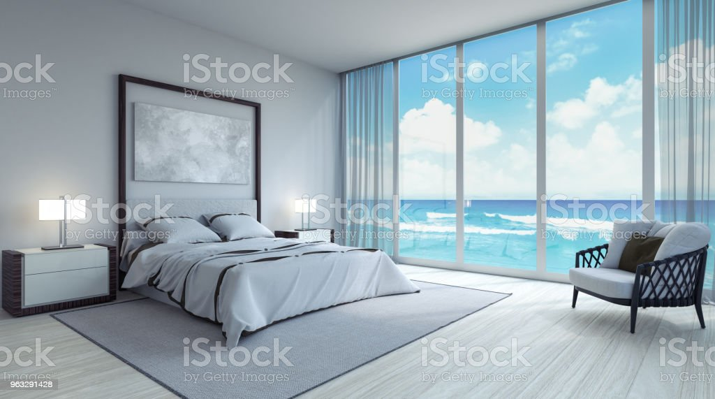 Modern Bedroom Interior Design 3d Render Stock Photo Download Image Now Istock