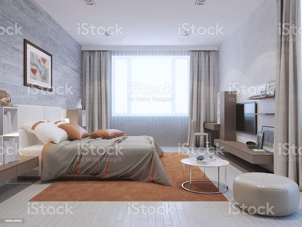 Boden, Kopfkissen, Schlafzimmer, Teppich, 2015. Moderne Schlafzimmer ...