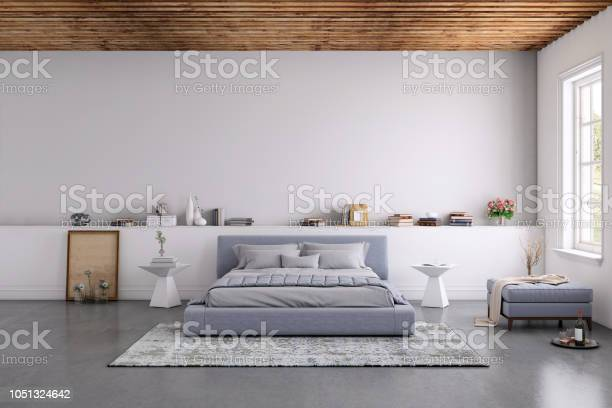 Modern bedroom interior with blank wall for copy space picture id1051324642?b=1&k=6&m=1051324642&s=612x612&h=lklcyqzmmszlu1kuxi 8mszr okgot8yx0belmk6qby=