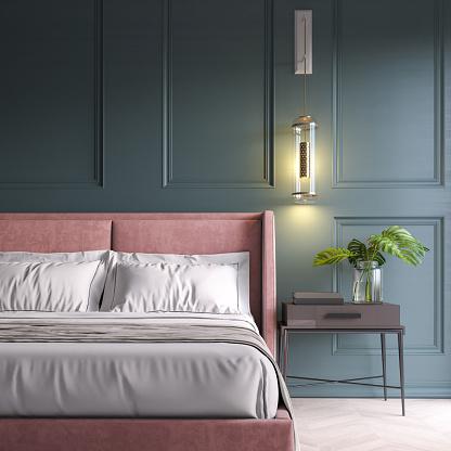 Modern Bedroom Stock Photo - Download Image Now