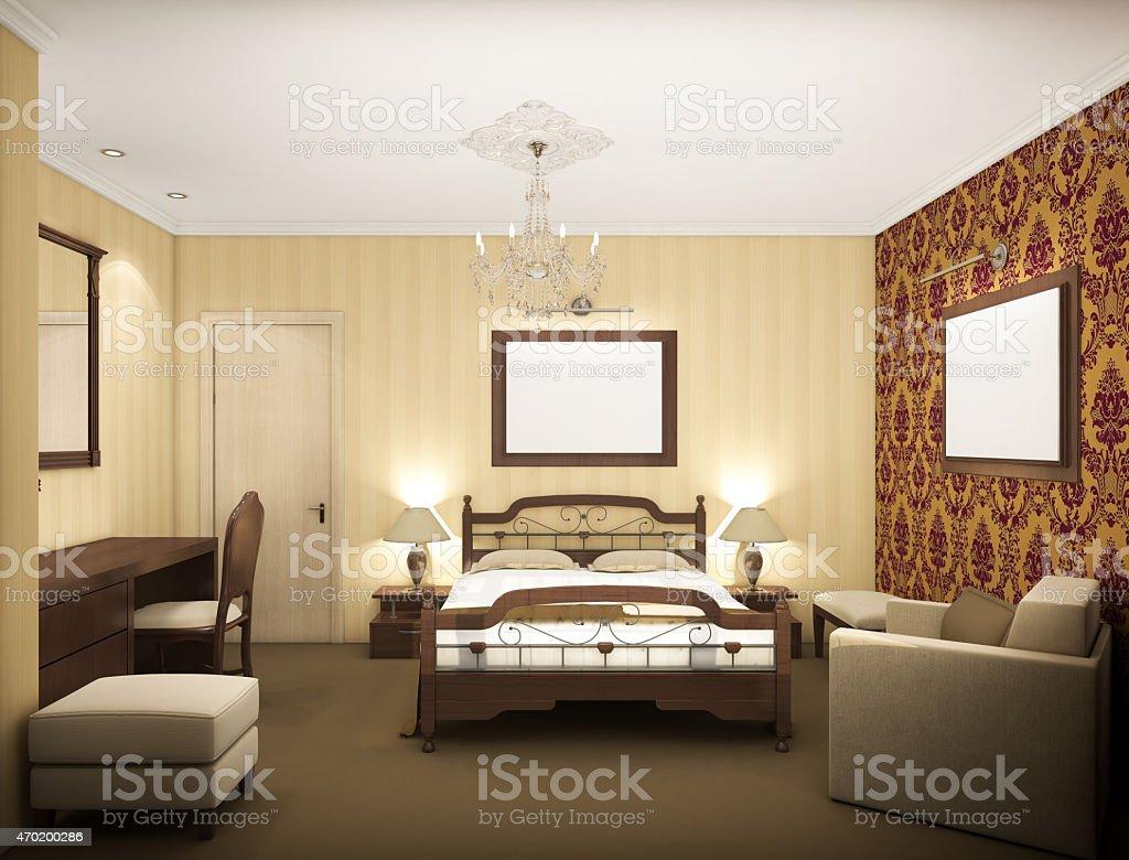 Render of Modern Bedroom