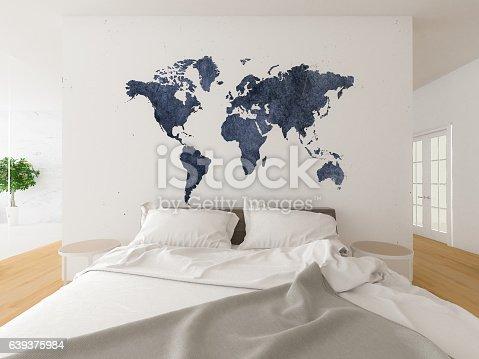 istock Modern Bedroom 639375984