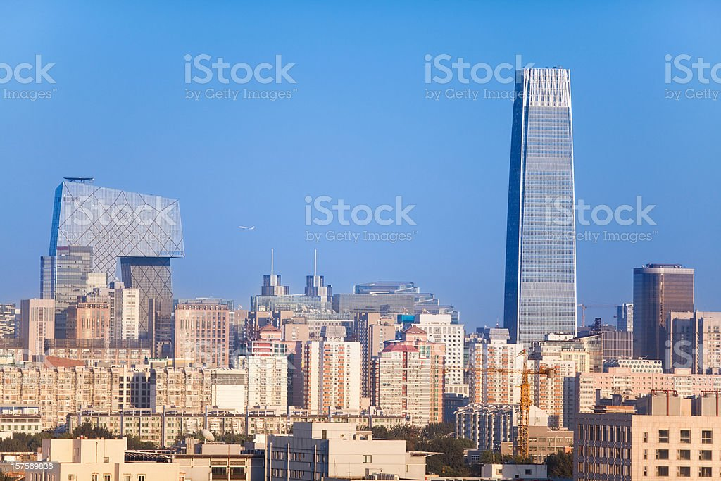 Modern Beijing royalty-free stock photo