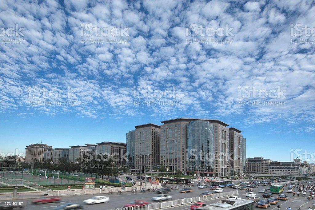 Modern Beijing royalty-free stock photo