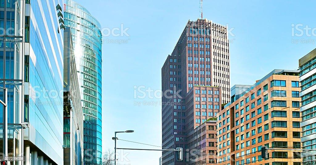 Modern Berlin, Germany stock photo