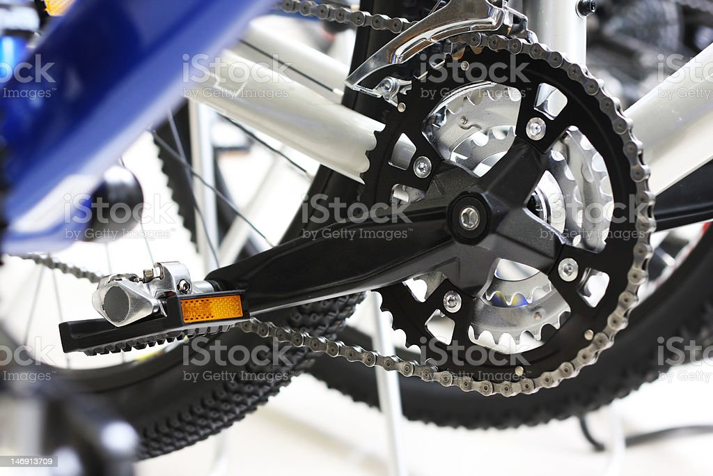 Modern bicycle royalty-free stock photo