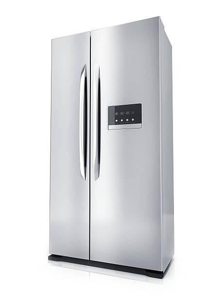 Modern big refrigerator – Foto