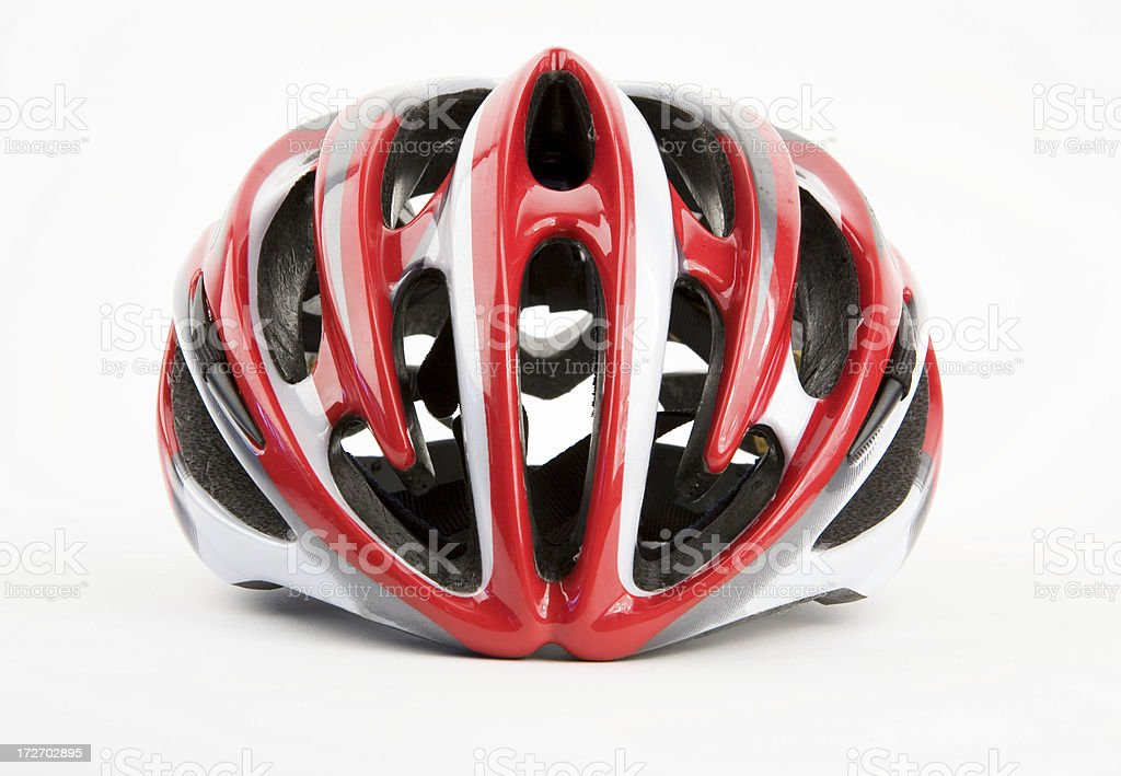 Modern Bike Helmet stock photo