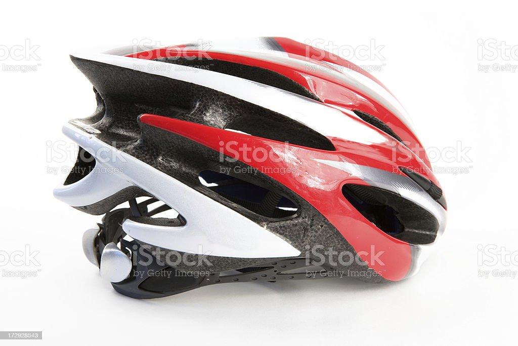 Modern bike helmet royalty-free stock photo