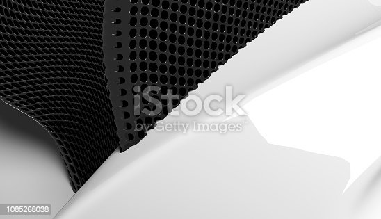639291528 istock photo Modern black and white abstract background 1085268038