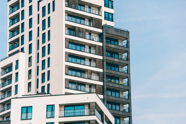 Bloc d'appartements modernes - Photo