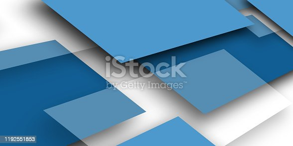 1126531335 istock photo Modern blue background overlap paper with blank space for your text 1192551853