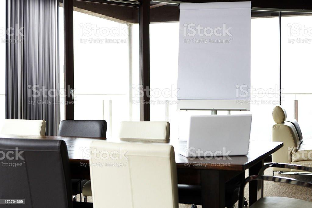 modern boardroom royalty-free stock photo