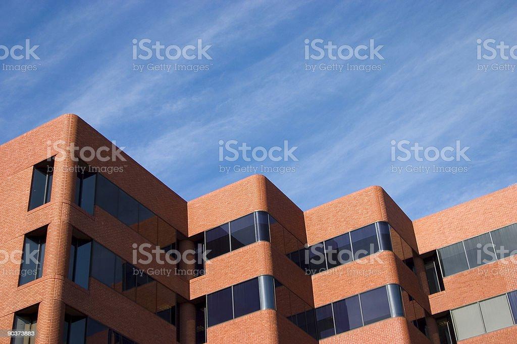 Modern Brick Building royalty-free stock photo
