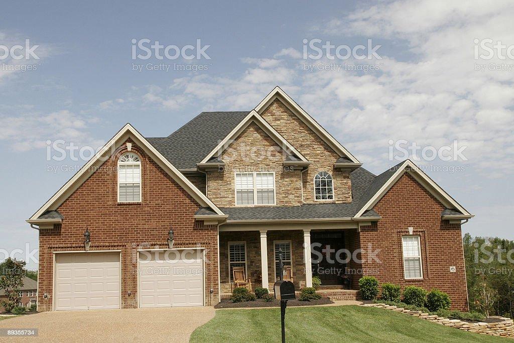 Moderne Brick Haus – Foto