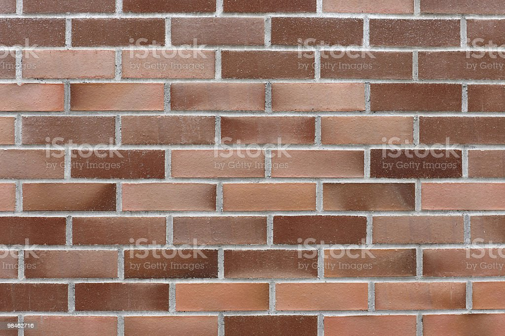 Modern Brick Wall royalty-free stock photo