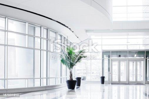 istock Modern Bright Office Entrance 187031910
