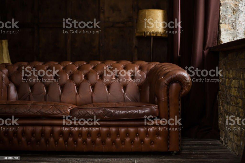 Moderne Braune Sofa Im Büro Stockfoto und mehr Bilder von ...