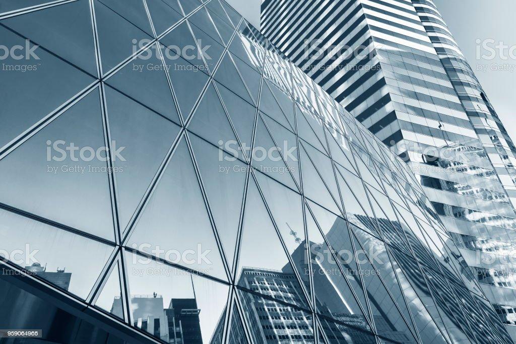 Modernes Gebäude Abstrakter Hintergrund – Foto