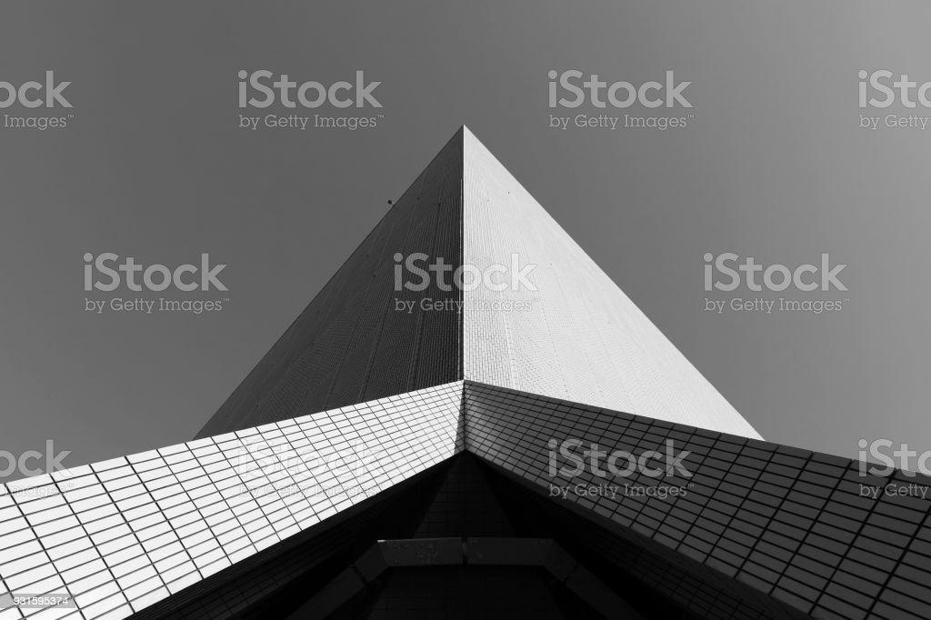Bâtiment moderne abstrait photo libre de droits