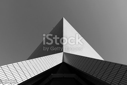 Modern building abstract background
