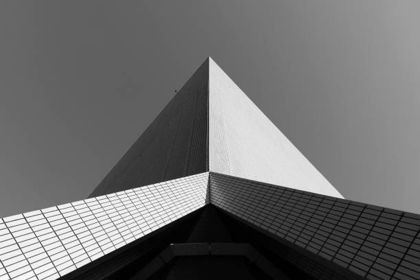 Modern building abstract stock photo