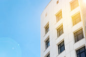 istock Modern building and sky, copy space 1306473479