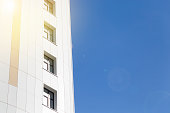 istock Modern building and sky 1306473486