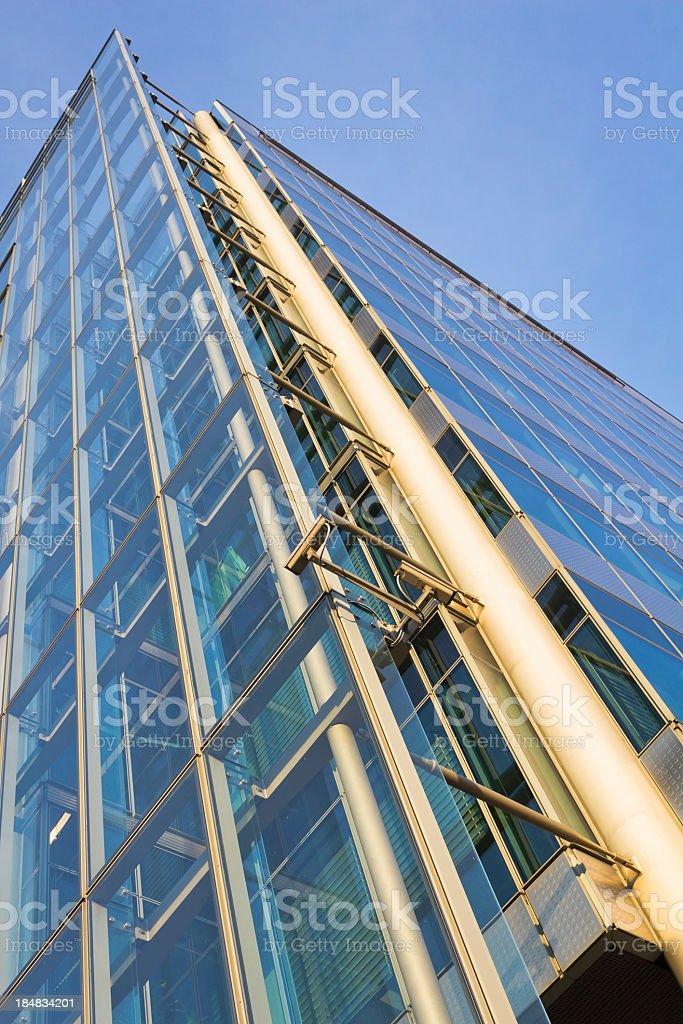 Modern building, Berlin, Germany royalty-free stock photo