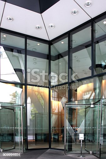 istock modern building entrance 909994654