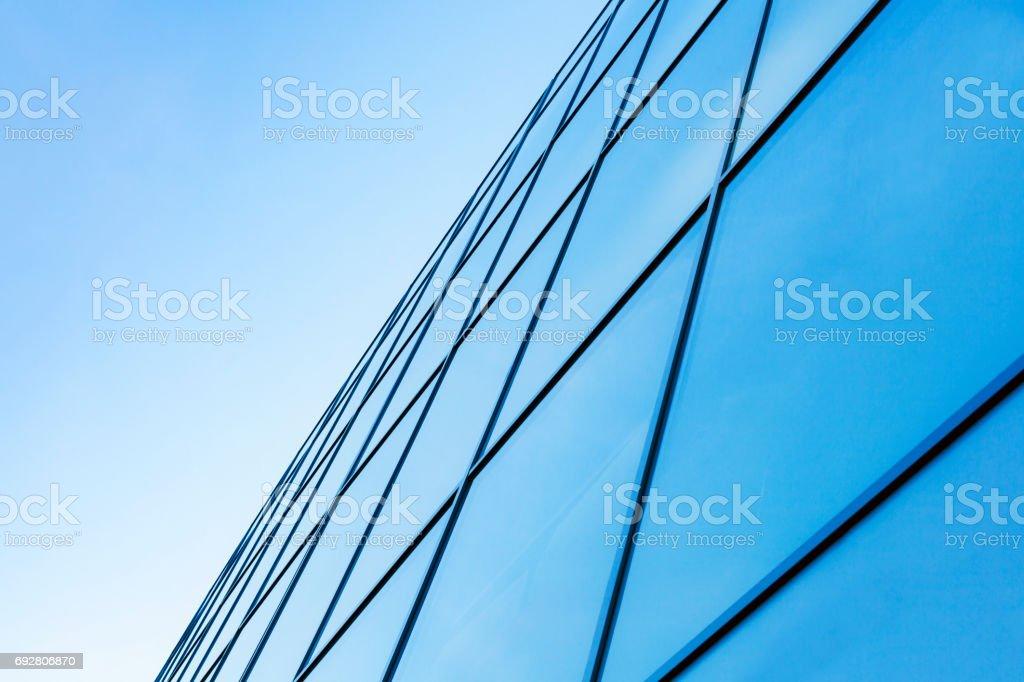 Modern building facade stock photo