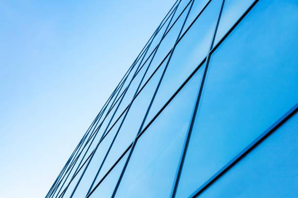 modern byggnad fasad - fönsterrad bildbanksfoton och bilder