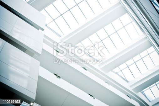 110921435istockphoto Modern building glass ceiling 110919453
