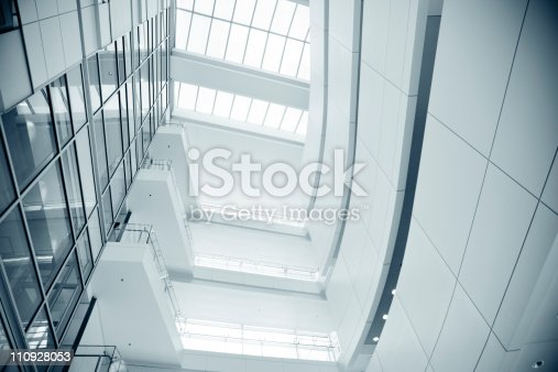 110921435istockphoto Modern building glass ceiling 110928053