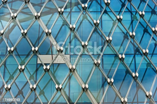 istock Modern building glass exterior 174990743