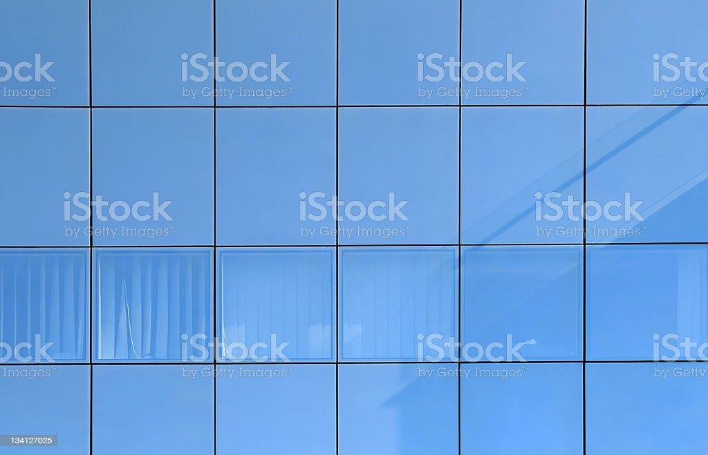 Modern building glass facade stock photo