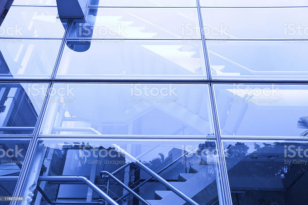 modern building glass royalty-free stock photo