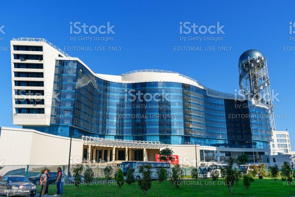 Modernes Gebaude Grand Hotel Kempinski In Batumi Georgien Stockfoto Und Mehr Bilder Von Adscharien Istock